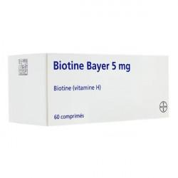 Biotine 5 mg 60 comprimés