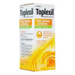 Toplexil sans sucre sirop 150 ml