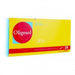 Oligosol zinc 28 ampoules