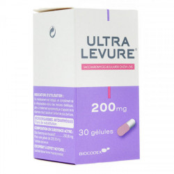 Ultra Levure 200 mg 30 gélules