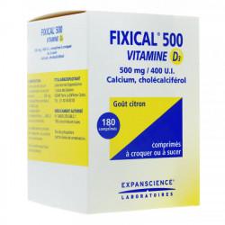 Fixical 500 Vitamine D3 500mg/400 UI comprimé