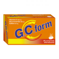 GCFORM, 30 comprimés effervescents