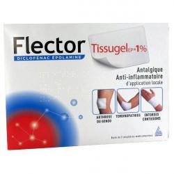 FLECTORTISSUGELEP 1 %, 10 emplâtres médicamenteux 10 sachets