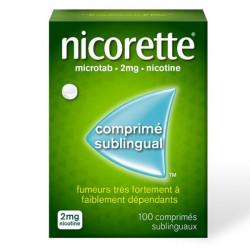 Nicorette Microtab 2mg Comprimé Sublingual x 100