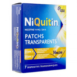 Niquitin 14mg/24h 7 patchs