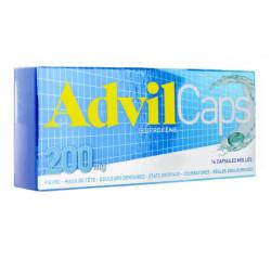 AdvilCaps 200mg 16 capsules molles