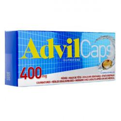 ADVILCAPS 400 mg, capsule molle, boîte de 14