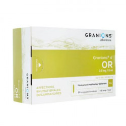 Granions d'or 0,2mg/2ml 30 ampoules