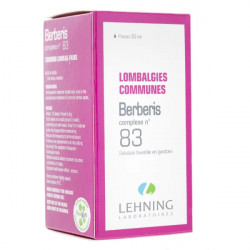Lehning Berberis Complexe n°83 solution buvable 30 ml