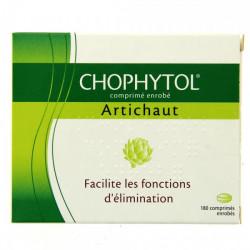 CHOPHYTOL, comprimé enrobé, boîte de 6 plaquettes thermoformées de 30
