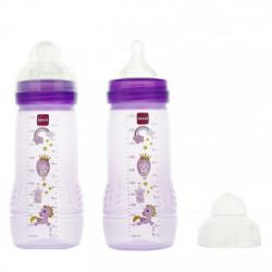 MAM Easy Active liquides épais Mauve 2 x 330 ml