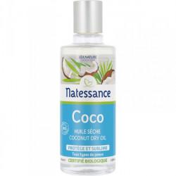 Natessance Coco Protège Et Sublime Huile Sèche Bio 100 ml