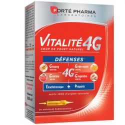 Forté Pharma Vitalité 4G Défenses 20 Ampoules