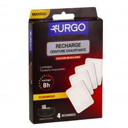 URGO RECHARGE Recharge compresse pour ceinture chauffante Urgo - bt 4