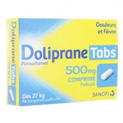 Doliprane Tabs 500 mg 16 comprimés