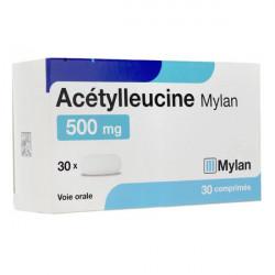 Acétylleucine Mylan 500mg 30 comprimés