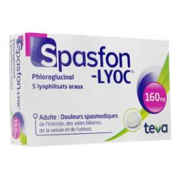 Spasfon-Lyoc 160mg 5 comprimés