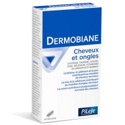 Pileje Dermobiane Cheveux & Ongles 40 gélules