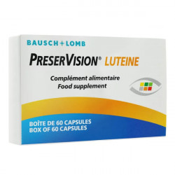 Bausch + Lomb PreserVision Lutéine 60 Capsules