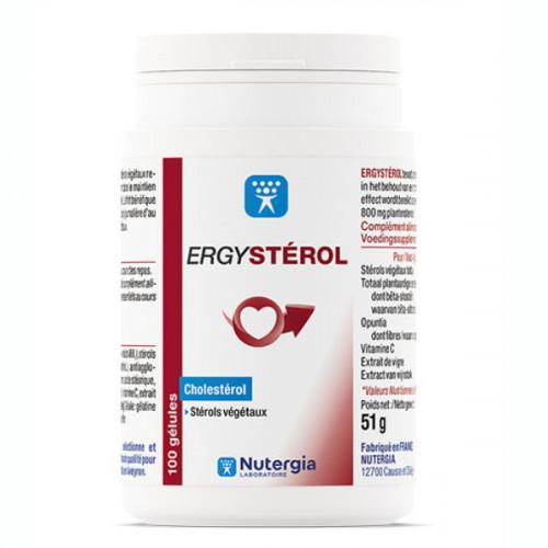 Nutergia Ergystérol Contrôle du Cholestérol 100 Gélules