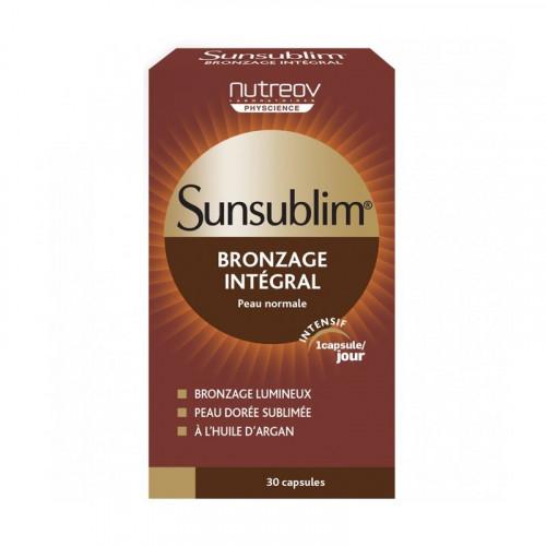 Nutreov Sunsublim Bronzage Intégral Hydratant 30 Capsules