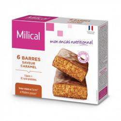 MILICAL Barre Minceur Caramel, 6 barres