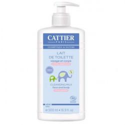 Cattier Bébé Lait de Toilette Hypoallergénique 500 ml