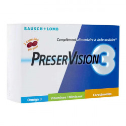 Bausch + Lomb PreserVision 3, 60 Capsules