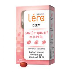 Léro Derm Santé et Qualité de la Peau 30 Capsules