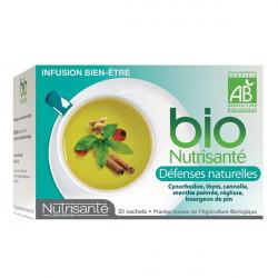 Bio Nutrisanté Infusion Défenses Naturelles 20 Sachets