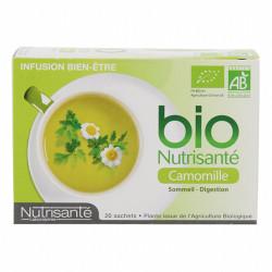Bio Nutrisanté Infusion Camomille 20 Sachets