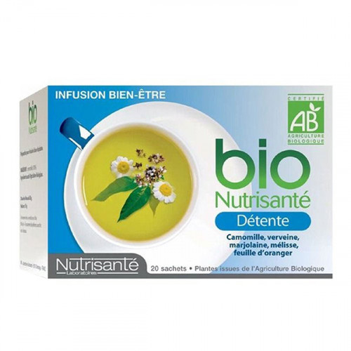 Bio Nutrisanté Infusion Détente 20 Sachets
