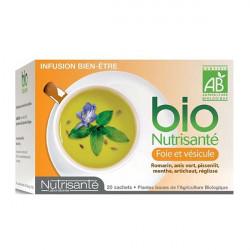 Bio Nutrisanté Infusion Foie et Vésicule 20 Sachets