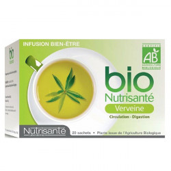 Bio Nutrisanté Infusion Verveine 20 Sachets