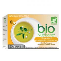 Bio Nutrisanté Infusion Régulation des Sucres 20 Sachets