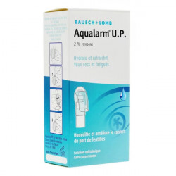 Bausch + Lomb Aqualarm U.P. Solution Ophtalmique Lubrifiante 10 ml