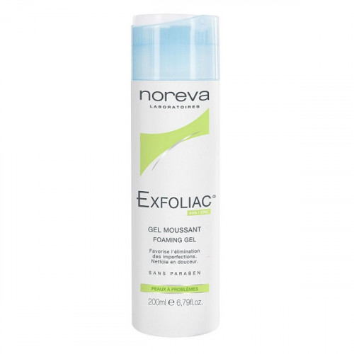 Noreva Exfoliac Gel Moussant 200ml