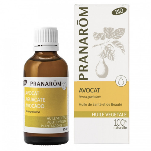 Pranarôm Huile Végétale Avocat Bio 50ml