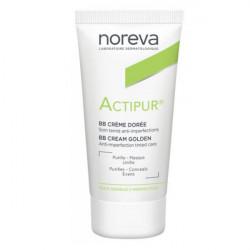 Noreva Actipur Crème Anti Imperfections Teintée Dorée 30 ml