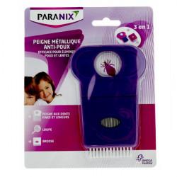 Paranix peigne anti-poux métallique 3 en 1