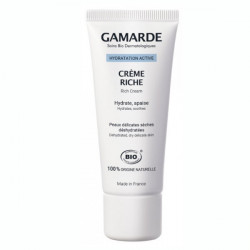 Gamarde Hydratation Active Crème Riche Bio 40 ml