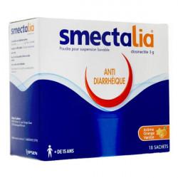 Smectalia orange-vanille 18 sachets