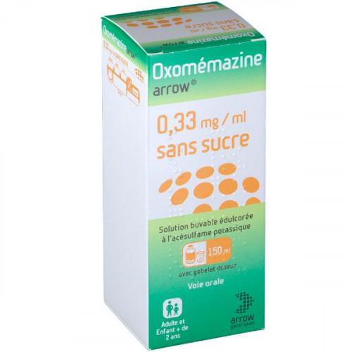 Arrow® Oxomémazine 0,33 mg/ml sans sucre 150ml