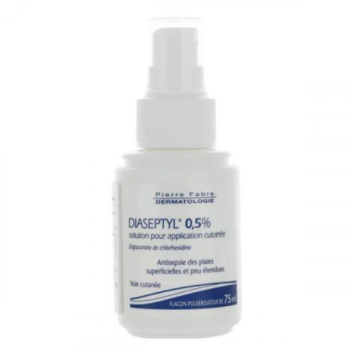 Diaseptyl 0,5% Solution pour application cutanée 75 ml