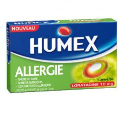 HUMEX ALLERGIE LORATADINE 10 mg, comprimé, boîte de 7