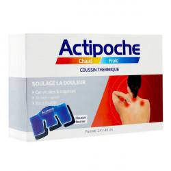 Actipoche Chaud/Froid cervicales et trapèzes poche thermique 24 cm x 40 cm