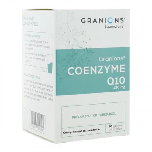 Granions coenzyme Q10 120mg 30 gélules