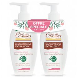 Rogé Cavaillès Soin Toilette Intime Extra-Doux Lot de 2 x 250 ml