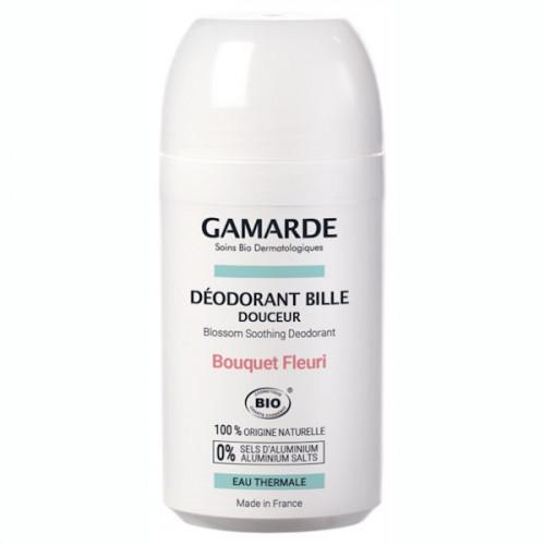 Gamarde Hygiène Douceur Déodorant Bille Douceur Bio 50 ml - Parfum : Bouquet Fleuri