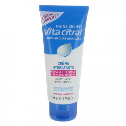 VitaCitral Crème Hydrantante Mains 100ml